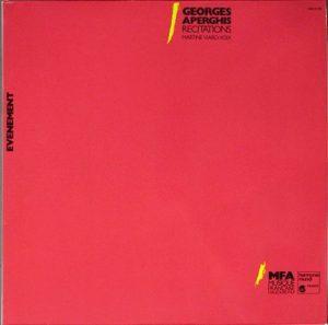 Aperghis Récitations Viard LP