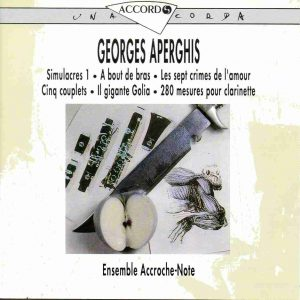Aperghis Accroche Note Accord
