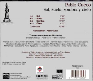 Cueco Transes back