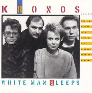 Kronos White Man Sleeps