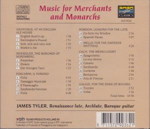 Music for Merchants back
